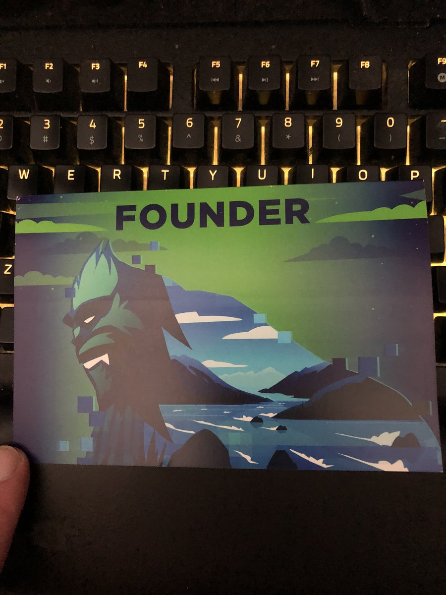 Got a nice little thank you letter form the @VancouverTitans can't wait to see them play live next year #forceofnature https://t.co/DgmrtN9xsk