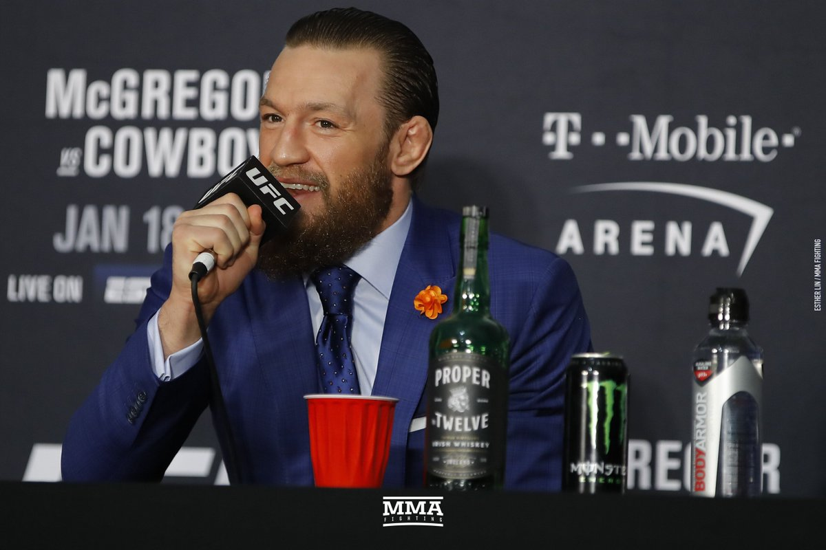 Conor McGregor lands at No. 16 on Forbes' highest-paid athletes list for 2020 (@DamonMartin)  https://t.co/7w1UWh4Cp1 https://t.co/2aga7ijCtJ