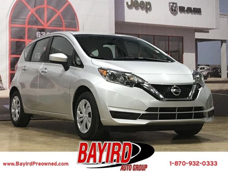 NOW AVAILABLE: 2019 Nissan Versa Note.  Call us today for info and pricing: (870) 932-0333  #BayirdPreOwnedSupercenter #Auto #Jonesboropic.twitter.com/408cqbIsIE