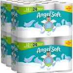 Restock!!   Angel Soft Toilet Paper, Linen Scent, 48 Double Rolls, 48 = 96 Regular Rolls, Bath Tissue   Starting at $31  https://t.co/Emmq1nhZ9V   #ad #toilet #paper