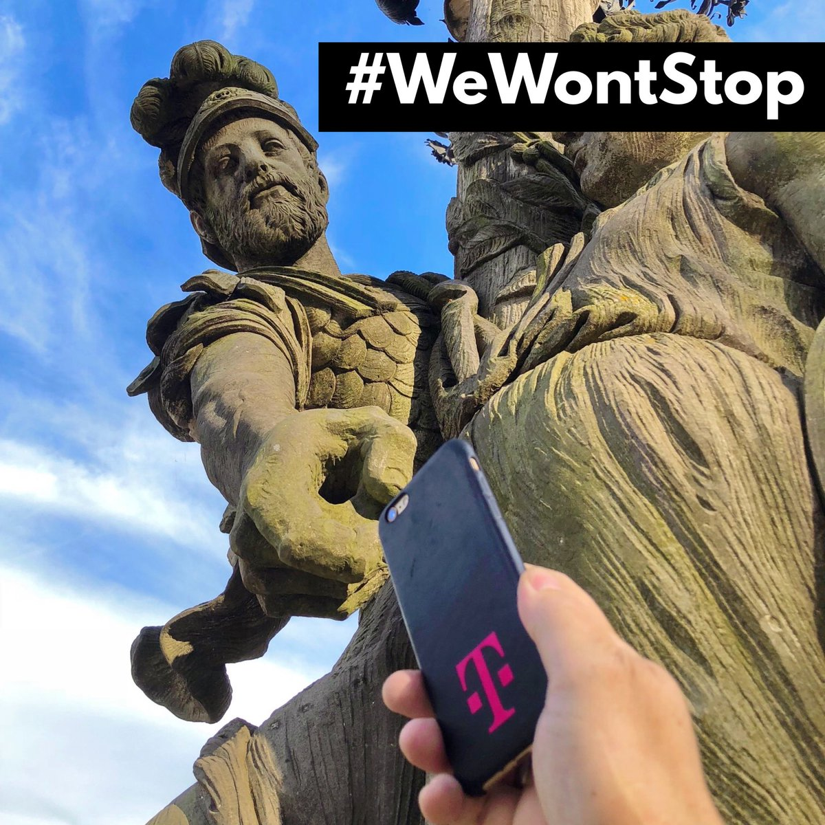 ARE YOU WITH US?   >> We won't stop until everyone is connected  <<  #WeWontStop #uncarrier #LoveMagenta #beBold #beOriginal #Magentapic.twitter.com/dVOKMlyRE9