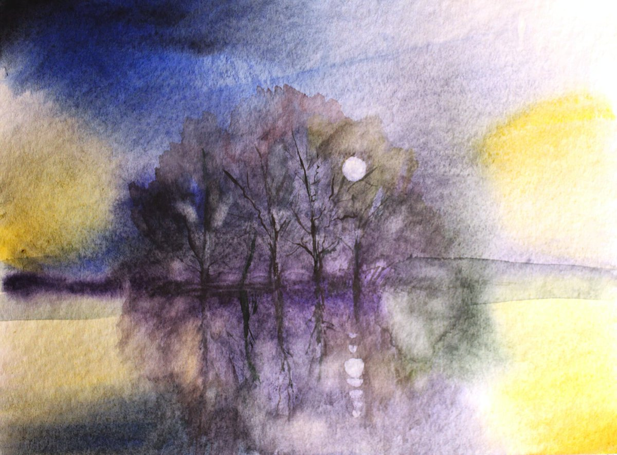 Morning  . New day #Watercolour  #originalwatercolorpic.twitter.com/dQVZBjCc8p
