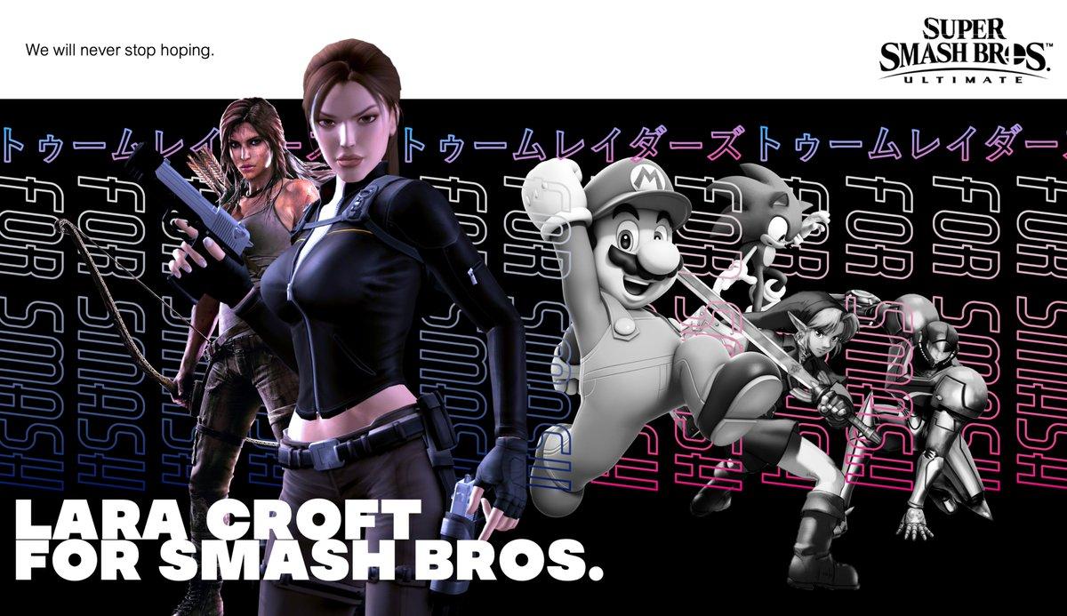 Lara Croft For Smash Bros On Twitter When Tomb Raider 1996