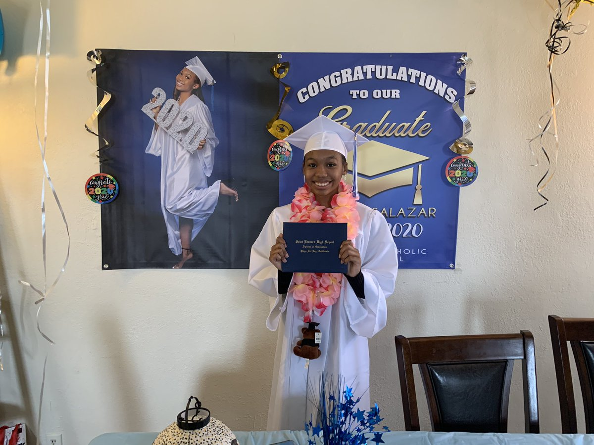 Congrats to my little sister. It's hard not to start crying when I think about how far she has came. I'm the proudest big brother in the world. UCLA Bound, HERE SHE COME!!!. #ClassOf2020 #uclabound https://t.co/3smY7pH87x