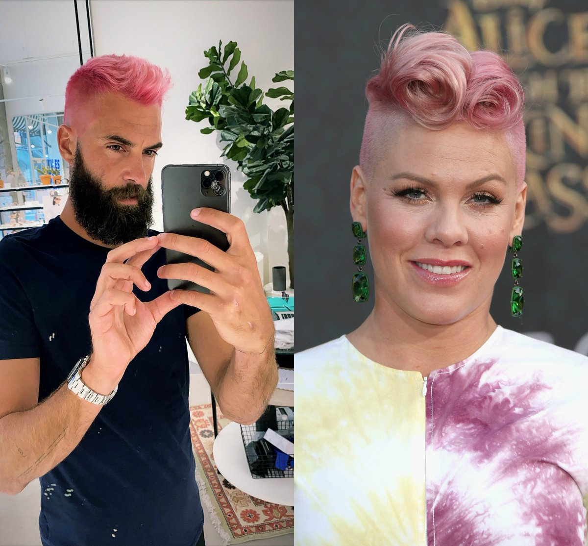 Revealed at last: Paires hair inspiration 😉 📷: @benoitpaire (IG) | @Pink