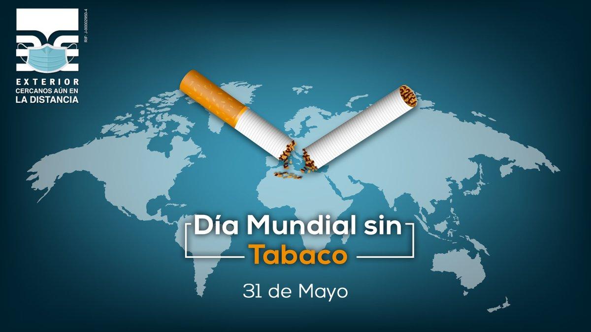 """Hoy #31Mar desde #BancoExterior conmemoramos el #DíaMundialSinTabaco, sumándonos a la campaña global de la #OMS del año 2020: """"Proteger a los jóvenes de la manipulación de la industria y prevenir su consumo de tabaco y nicotina"""". #QuédateEnCasa #CercanosAúnEnLaDistanciapic.twitter.com/6RPLsEO9mB"""