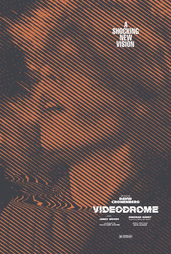 DEBBIE HARRY in VIDEODROME (1983) #horror #scifi by David Cronenberg #poster by Adam Jureskopic.twitter.com/FeTH696Dx7