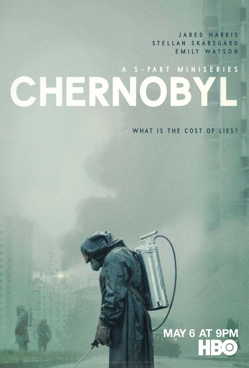 #MovieReview #StayAtHome #HBO Chernobyl (miniseries) : 9.5/10pic.twitter.com/MzEP7F6Uu9