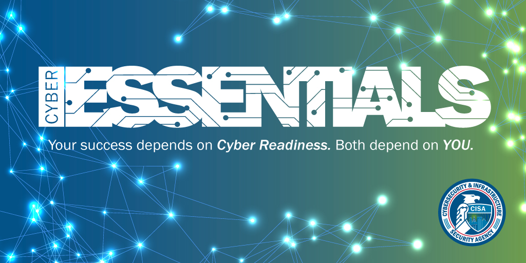 csgspace csgspace: GlobalCyberAlln: RT CISAgov: Want to improve your organization's #cybersecurity posture? We've got the tools you need!  Check out our new #CyberEssentials Toolkit: http://cisa.gov/publication/cyber-essentials-toolkits… #InfoSec #InformationSecurity pic.twitter.com/uDmTmG64aU #Cybersecurit…