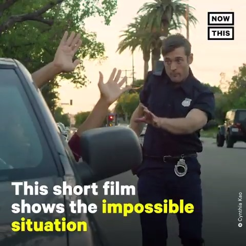 This take on 'Groundhog Day' shows the tense situation Black men face when dealing the police Watch the full film: go.nowth.is/36H7lfT