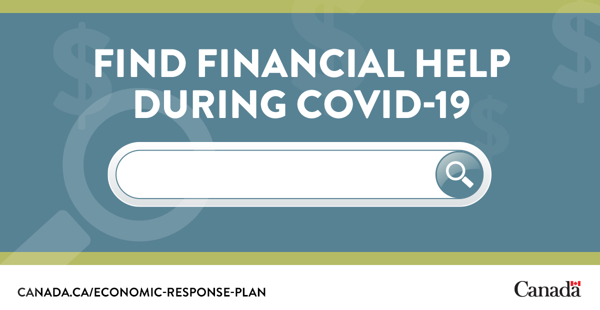 Wondering what #COVID19 support may be available to you and your family?  There is an online tool available to help identify what programs you may be eligible for.  Check it out: http://ow.ly/fboy50zTJWH  #EconomicResponsepic.twitter.com/sHOOhSZfJ9