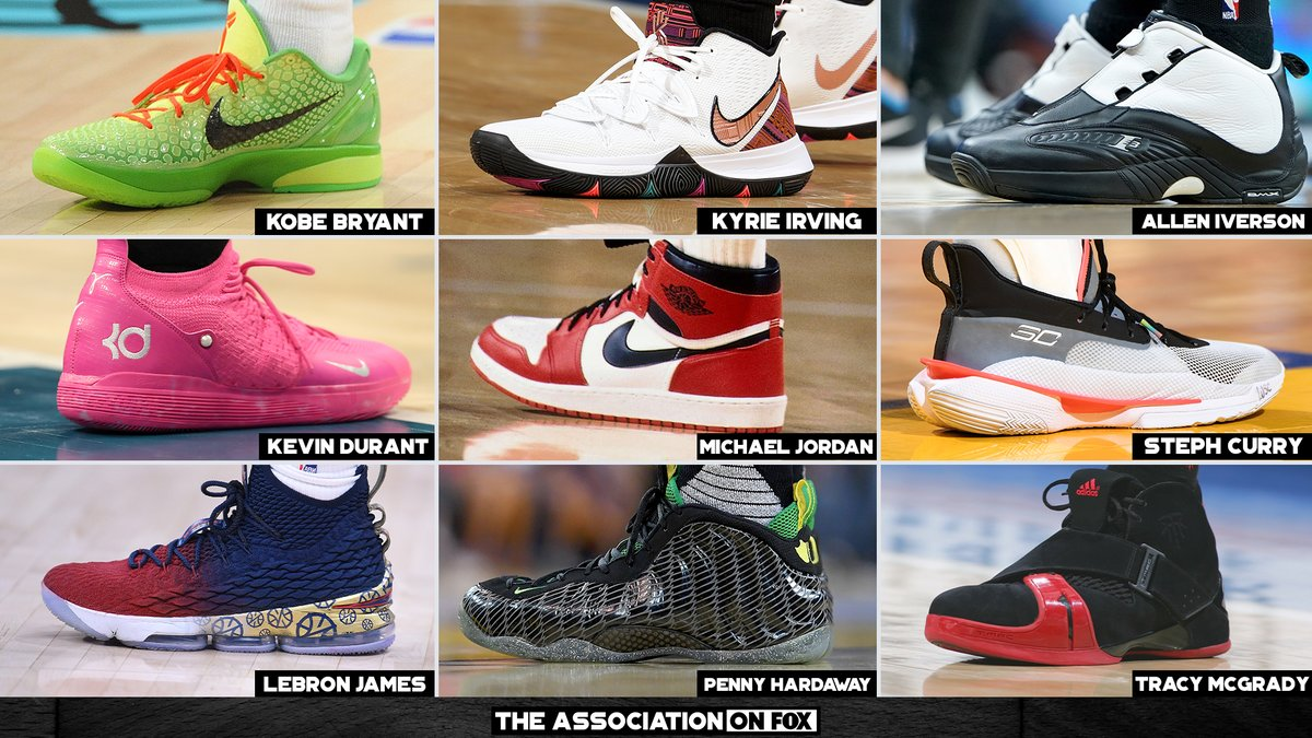 You can only keep 3 player's sneaker collections 👟