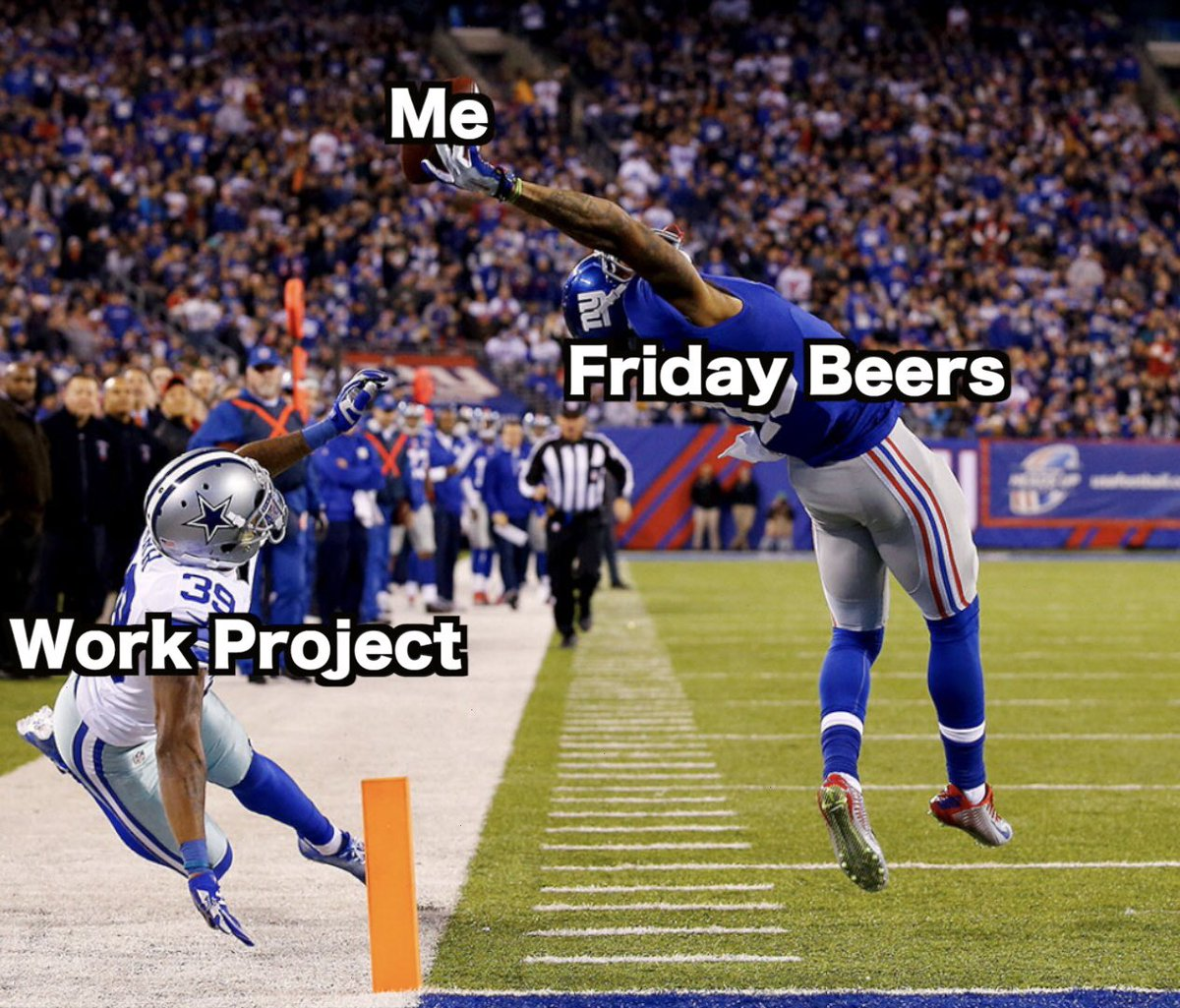 Saved by the beers
