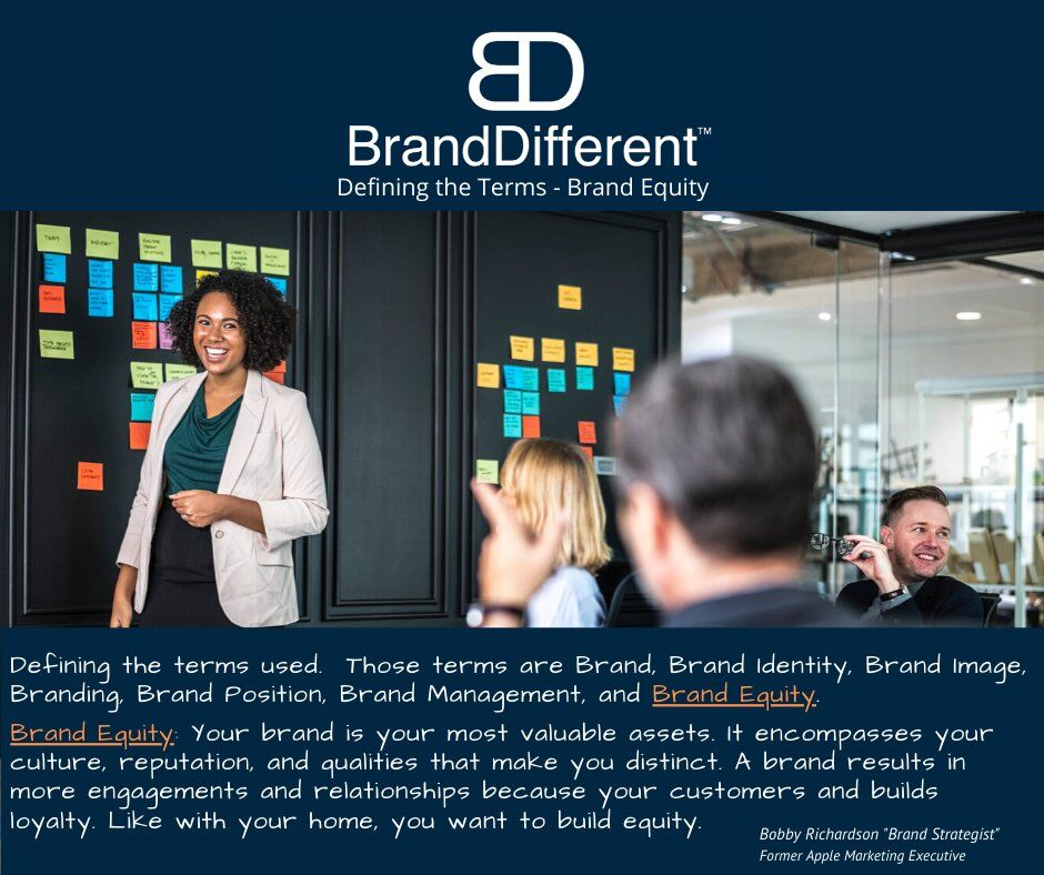 Brand Equity - We get a lot of questions around the 7 brand terms and have created these posts to share the terminology.  #Marketing #SmallBiz #marketingtips #Branding #Entrepreneurship #startups #SmallBusiness #revenue  #MarketingDigital #Retail #Entrepreneur #SmallBizpic.twitter.com/NfKAplDDqy
