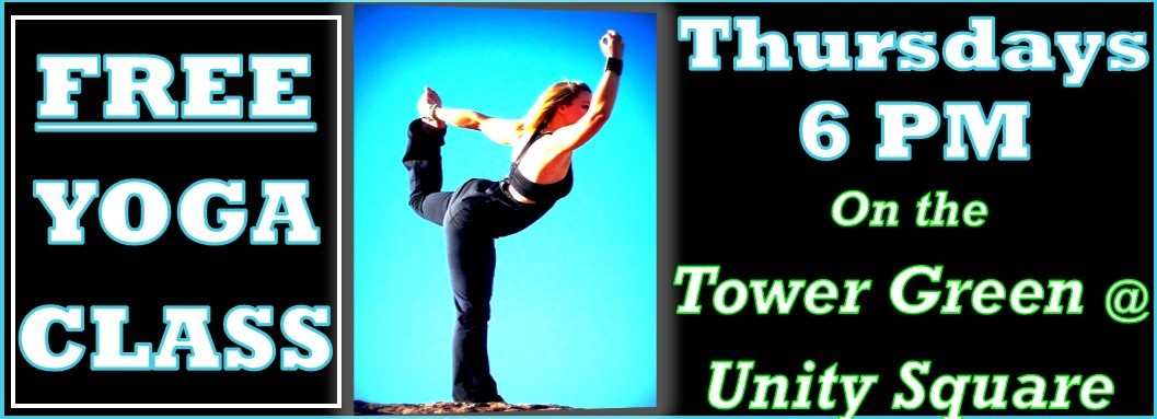FREE YOGA! What could be better than free Yoga classes? Free OUTDOOR yoga classes, Thursdays at Unity Square in Bartlesville.#BPLibraryLife #BPLHWF #yoga #relaxation #FitnessMotivation #ThursdayThoughts #thursdayvibes #ThursdayMotivation BPL-Serving our community with excellence! https://t.co/CQQKIDWWJv