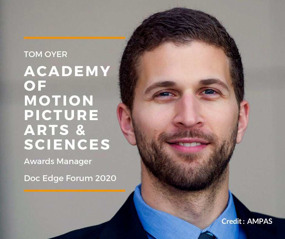 Day 2 of Doc Edge Forum opens shortly with a presentation from Tom Oyer @TheAcademy. Register now: https://bit.ly/2TRcdKm #docedge #lifeunscripted Presented by @radionz #Oscars #AcademyAwards pic.twitter.com/CunTEV24Rf