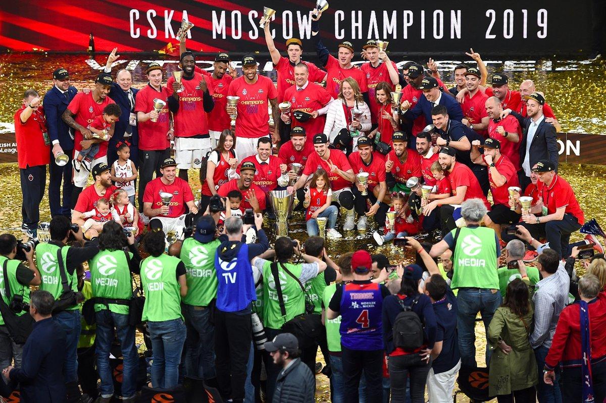 """🔥Μιας και το final-4 της Κολωνίας δεν πραγματοποιήθηκε ποτέ, η Ευρωλίγκα φρόντισε να μας θυμίσει την περυσινή επιτυχία της CSKA του Δημήτρη Ιτούδη 👇Δείτε το εντυπωσιακό βίντεο με μπόλικο """"παρασκήνιο""""! https://t.co/lpif9OxO6D  #euroleague #cskamoscow #finalfour #title #throwback https://t.co/K5rGGjSdLc"""