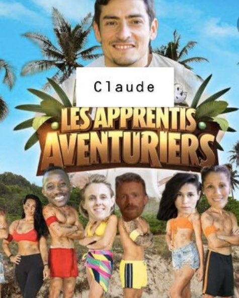 Claude en balade... #kohlanta<br>http://pic.twitter.com/tMNvvtGxIj