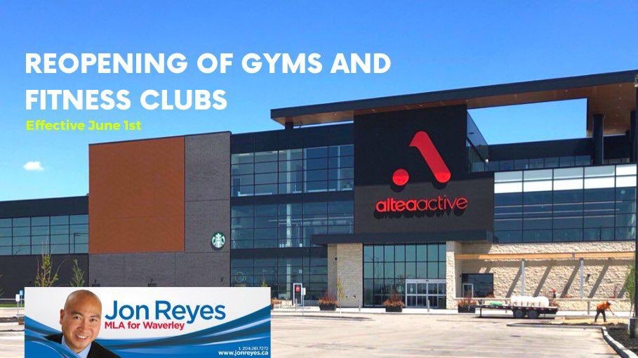 test Twitter Media - Are you missing your routine going to the gym? Restoring Safe Services Phase 2 is effective June 1st which includes gyms and fitness clubs. For more information, please visit https://t.co/Xt4qp1y5Ej. Also, please verify with the respective businesses on their actual opening date. https://t.co/OyYuowxFqX