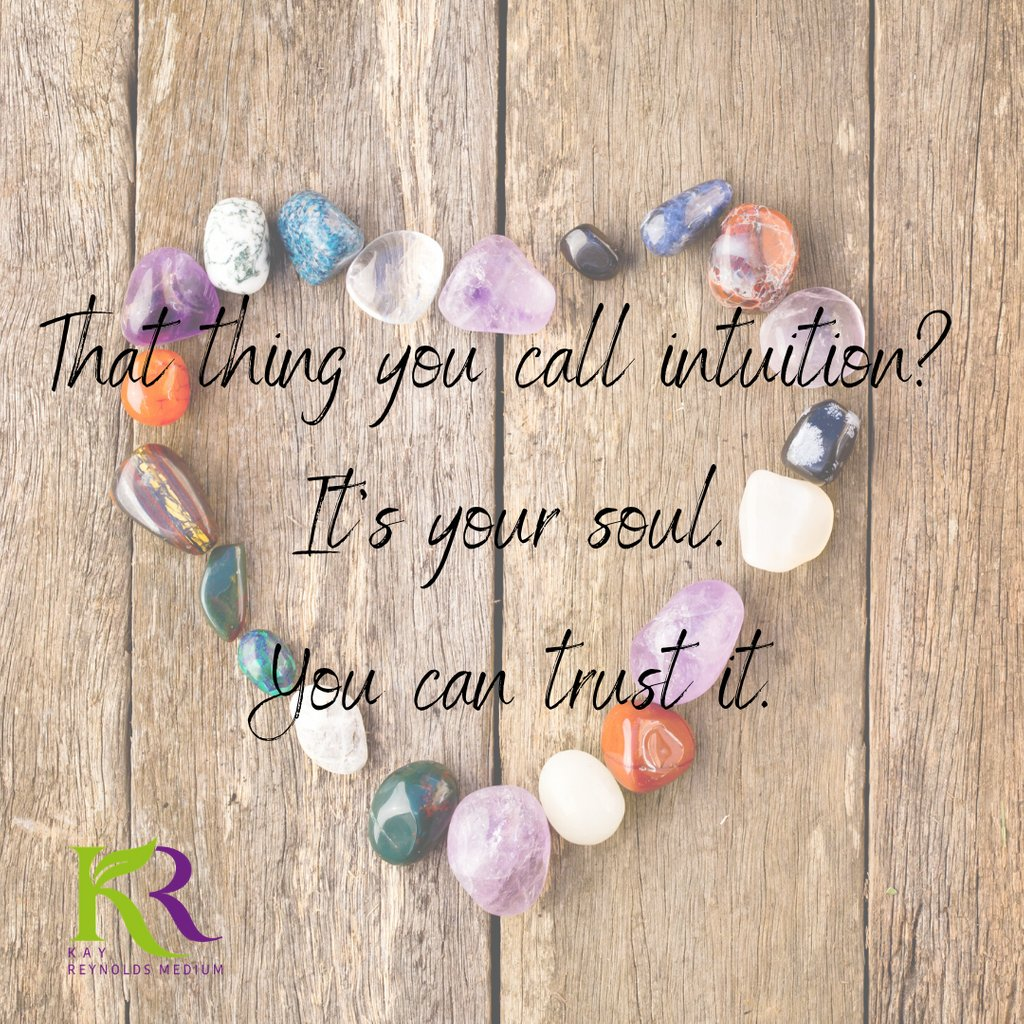 That thing you call intuition? It's your soul. You can trust it. Visit https://buff.ly/2zDc9GE  to learn how to be a Medium #mediumship #psychicmedium #clairvoyant #psychic #mediums #mediumshipreading #psychicreading pic.twitter.com/wPIlP7h4LX