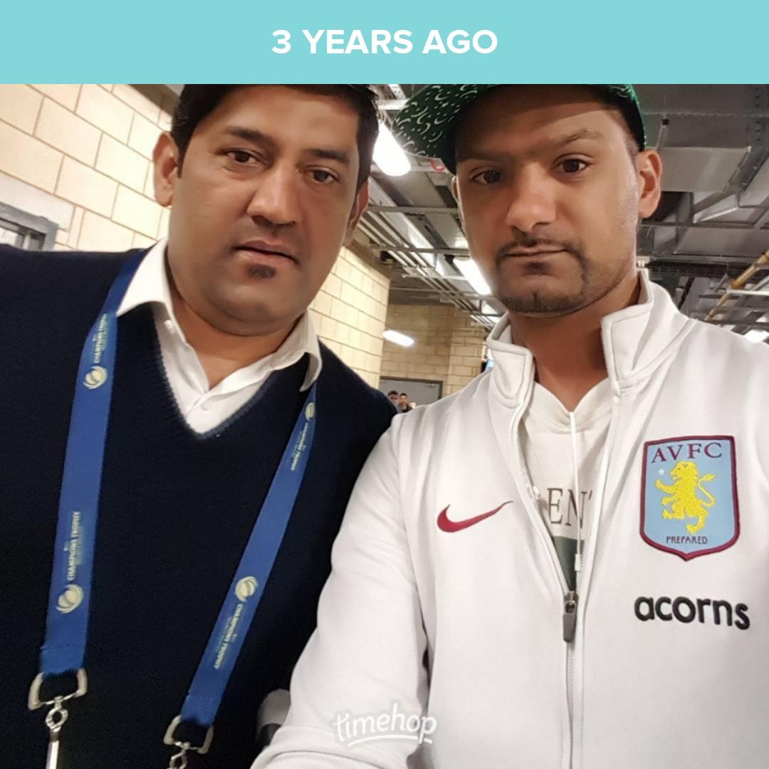 3yrs ago 2day #selfie with @SYahyaHussaini #ct17 #CT17 #onthisday #pakvaus #cricket #cricketmerapyarhai #ilovecricket