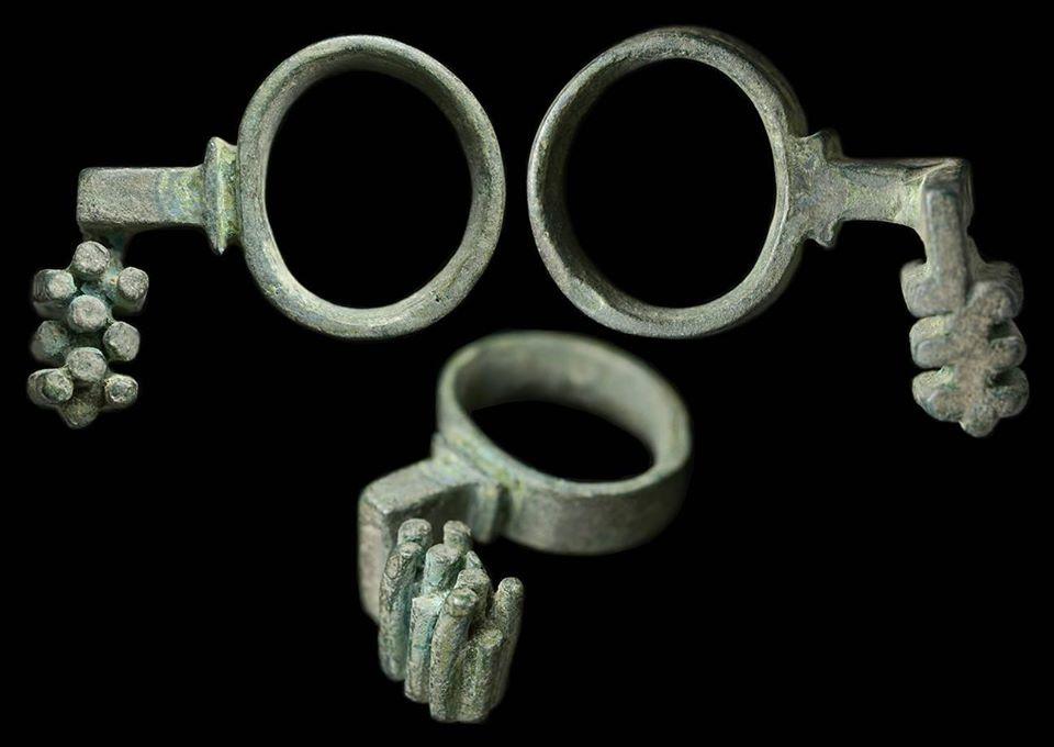 Ancient Roman keys