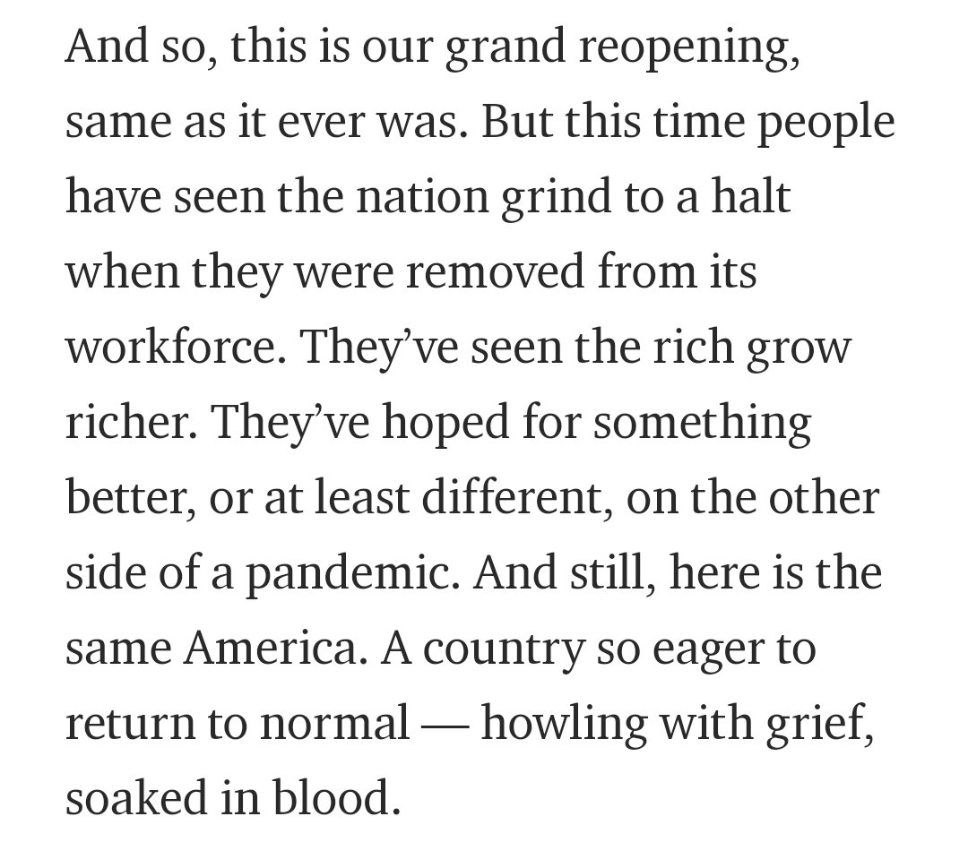 For @GENmag, I wrote a small thing about the return to American Normalcy.   https://t.co/OTTgXZw6wC https://t.co/NX7PkxyOB7
