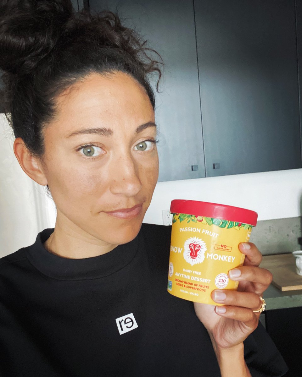 I'm proud to partner with @eatsnowmonkey 😊 Snow Monkey is a vegan treat that helps me fuel mindfully. This company is 100% women-owned and operated, so of course it tastes good, does good and is actually good for you! 💜#EatNoEvil #SnowMonkeyPartner #SMAthleteAmbassador