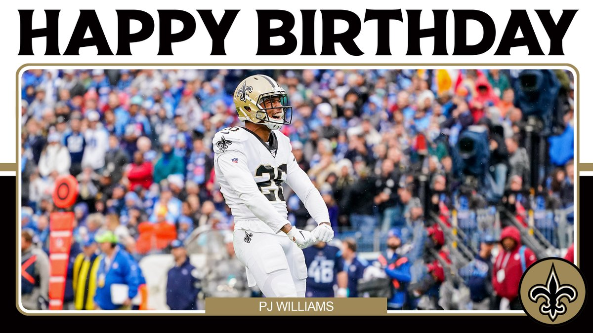 Join us in wishing @PjWilliams_26 a happy birthday today! 🎉⚜️ https://t.co/dcBbmkZO3C