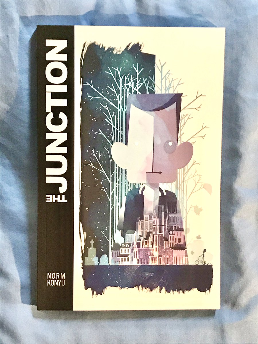 Look what arrived today: @JunctionNovel! Such a beautiful #GraphicNovel. Get your own copy via the link below...  https://t.co/BRzD2NVDR1  #IndieComics #Kickstarter #ComicBook #BookBoost #AmReading #Comics #FridayReads #Illustration https://t.co/6Kws0bWeuc