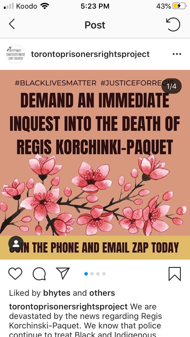 HELLO CANADIAN FRIENDS AND OOMFS PLEASE TAKE ACTION FOR REGIS' MURDER THE PROBLEMS W POLICE BRUTALITY HERE CANNOT STAY BRUSHED UNDER THE RUG ANY MORE IF UR NOT CANADIAN BUMP THESE U MIGHT KNOW PPL IN THE AREA <br>http://pic.twitter.com/2UPhrUVWGT