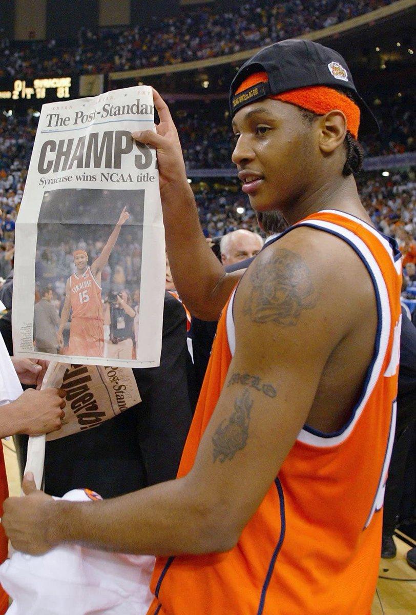 "Para aquellos que dicen que Carmelo Anthony ""No ganó nada""...   https://t.co/Ye6GiKFY1x"