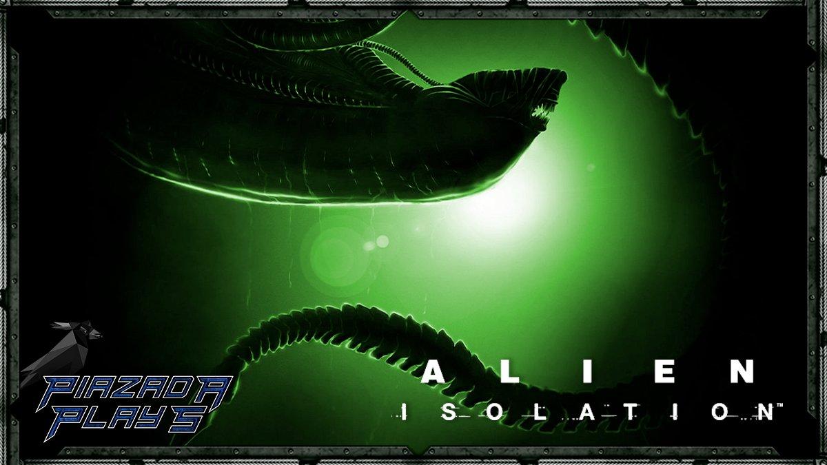 """""""No espaço, ninguém pode te ouvir gritar... por mais que você grite pra caramba!""""  Continuando com essa praga desse Alien: Isolation!!! 👽    #piazadaplays 💙 #streamholics #sh #twitch #twitchbr #alienisolation"""