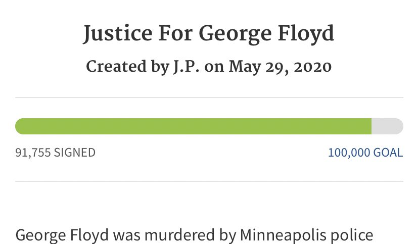 LESS THAN 10K AWAY!!!! SIGN & SHARE! petitions.whitehouse.gov/petition/justi…