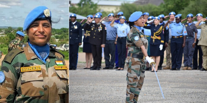 #Award 🇮🇳🏆 Major Suman Gawani of the #IndianArmy, who served as a peacekeeper with the United Nations mission in South Sudan (UNMISS) in 2019, has won the prestigious UN's 'Military Gender Advocate of the Year' award.  #UN #Peacekeepers #India #MajorSuman #IndianArmedForces https://t.co/gc3PrZpA2V