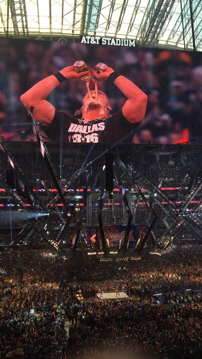 @steveaustinBSR #WrestleMania32 https://t.co/KNonC1NMEj