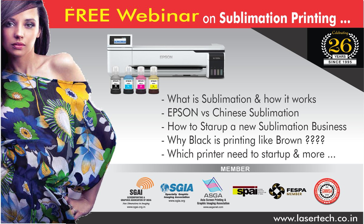 Free Webinar on SUBLIMATION PRINTING.... ON SUNDAY the 14TH JUNE 2020 .Register Now !!!! https://us02web.zoom.us/webinar/register/WN_cuD-z6xtRFulPyNmgHxU1Q … http://www.lasertech.co.in pic.twitter.com/kDnodmzOxj