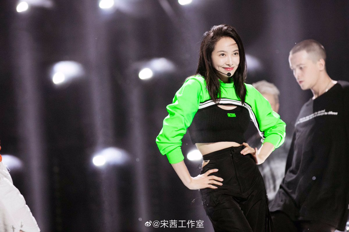 "200530 Studio Weibo Updates - ""Up To Me"" 1st Stage Rehearsal Photos 💚  #VictoriaSong #宋茜 #SongQian #ProduceCamp2020 #创造营2020 https://t.co/qaib1hrPGn"