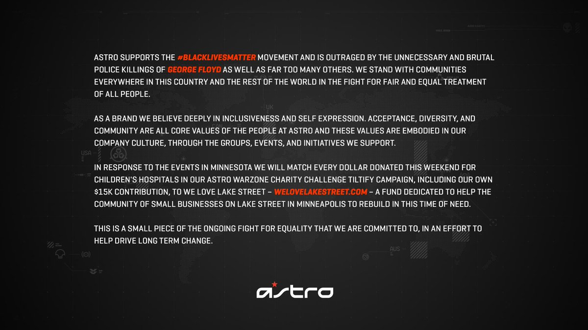 ASTRO Gaming (@ASTROGaming) on Twitter photo 30/05/2020 13:42:34