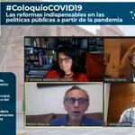 Image for the Tweet beginning: #ColoquioCOVID19 Javier Abugattás Pdte. @CEPLAN2050: