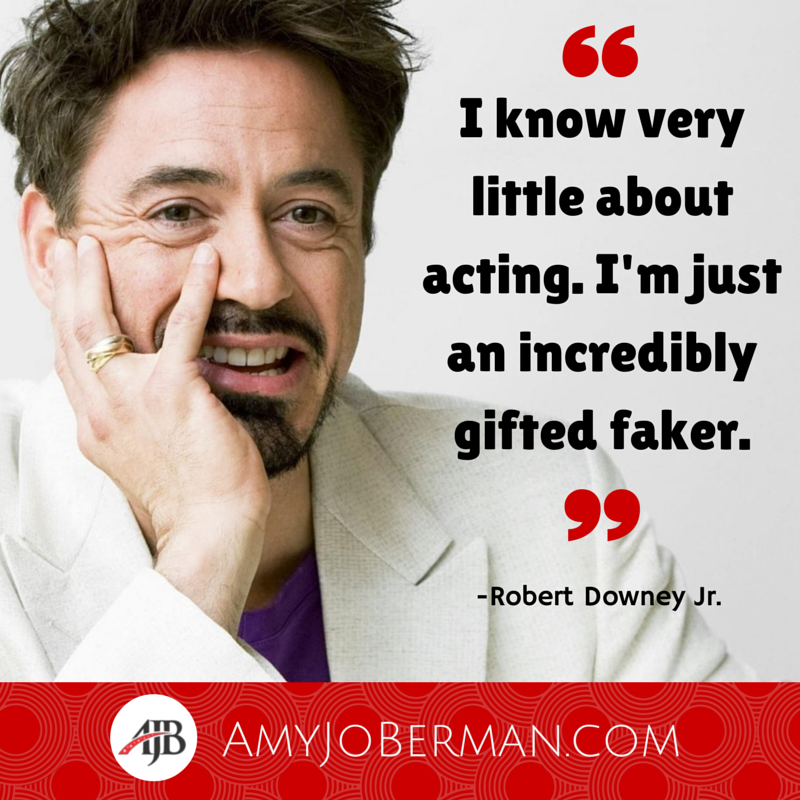 "Do you agree @RobertDowneyJr - Is he a ""gifted faker"" or an extraordinary #actor? pic.twitter.com/qAcZROzm2O"