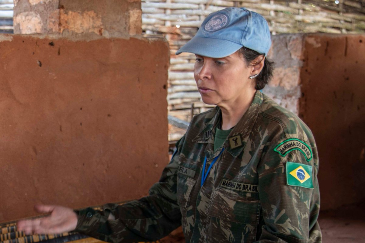 I'm proud to share that Commander Carla Monteiro de Castro Araujo of Brazil and Major Suman Gawani of India have been awarded the Military Gender Advocate Award.  Their @UNPeacekeeping contributions highlight how women peacekeepers are vital to peace and security everywhere. https://t.co/QCRMFciabQ