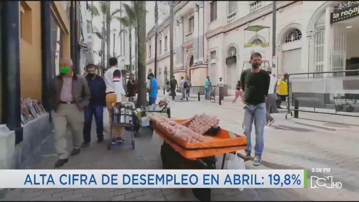 #Avance Espere ampliación de estas y otras noticias a las 7:00 p.m. 🔹Colombia registra la más alta cifra de desempleo desde 2001 🔹Alcaldía de Bogotá estudia cierre de la localidad de Kennedy ante la propagación del coronavirus