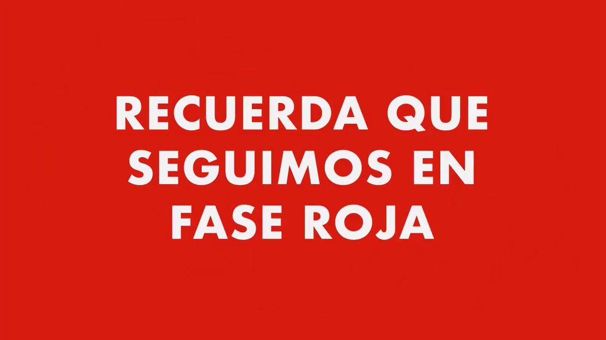 RT @alfredodelmazo: Seguimos en Fase Roja 🔴, #QuédateEnCasa y sigue pendiente del semáforo 🚦. https://t.co/WgsuIYvpIf
