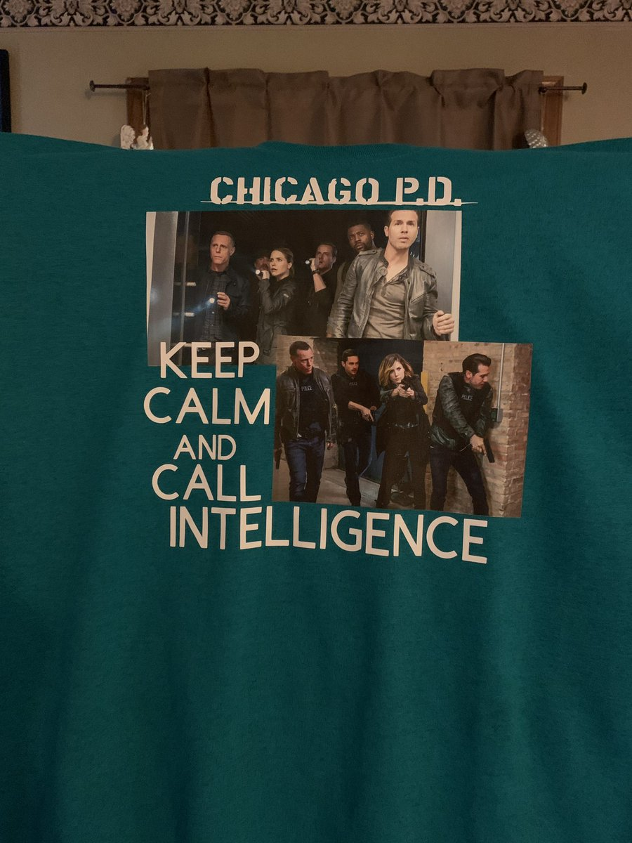 @jesseleesoffer @NBCChicagoPD @SophiaBush @RoycedaVoyce had to make another Chicago PD shirt to wear to work and support Intelligencepic.twitter.com/X2pVLriU46