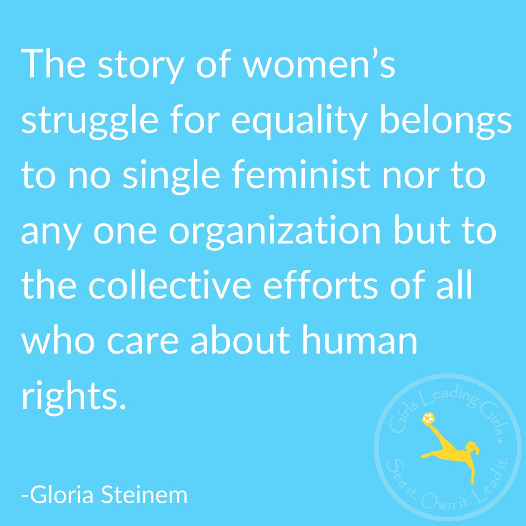 We are all in this fight for human rights & equality! We can make a difference together!  #EachforEqual #FeministFriday #humanrights #equality #girlsleadinggirls @GloriaSteinem @atheletestovisionaries @missrepresentation @womenworking @because.she.can https://t.co/jayd3dEByI