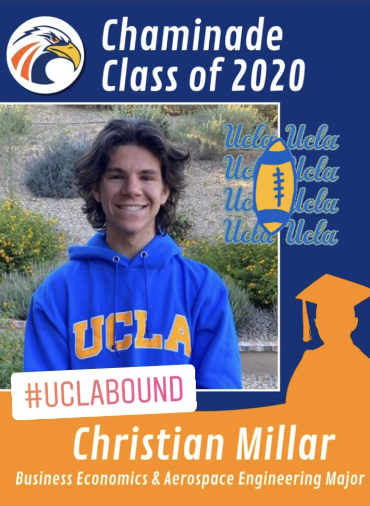 Congratulations Christian! #chaminade2020 #UCLABound @ChaminadeCCP @chaminade2020 https://t.co/8lTAeLDEK0