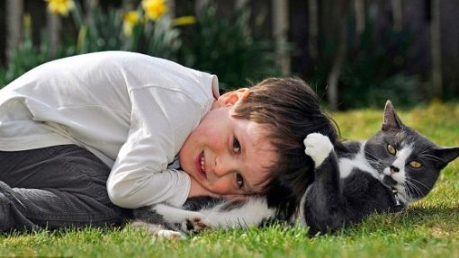 #FridayMotivation  Playing with his cat makes this boy very happy. If you like PLEASE RT <br>http://pic.twitter.com/FlrcWidzWa