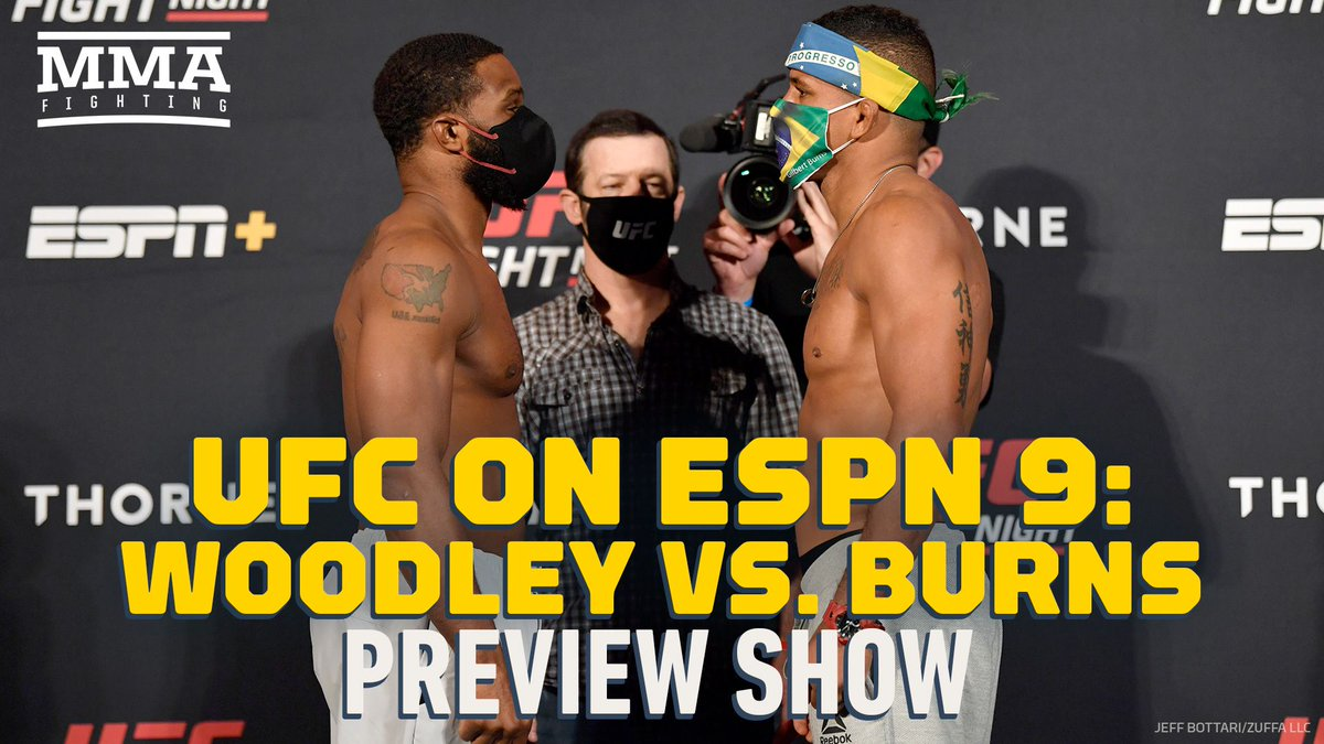 Video: UFC on ESPN 9 preview show (@MikeHeck_JR, @JoseYoungs) https://t.co/B9qvoXrslv https://t.co/owWbsdxaj6