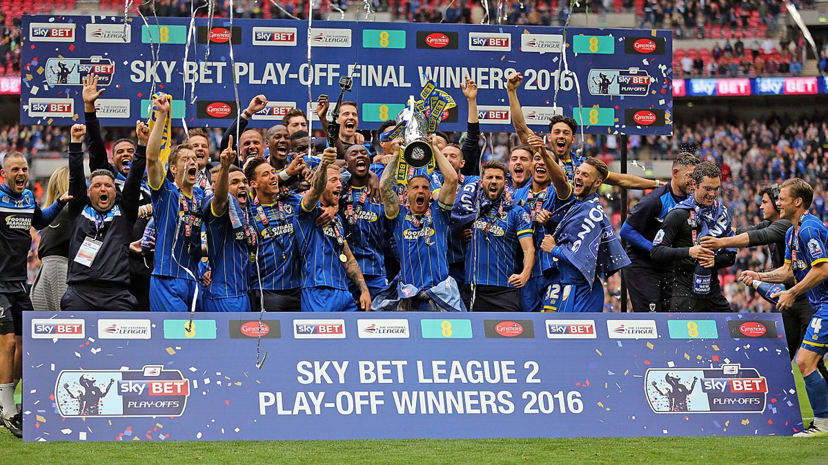 There was a Dons promotion party at Wembley four years ago! #AFCW